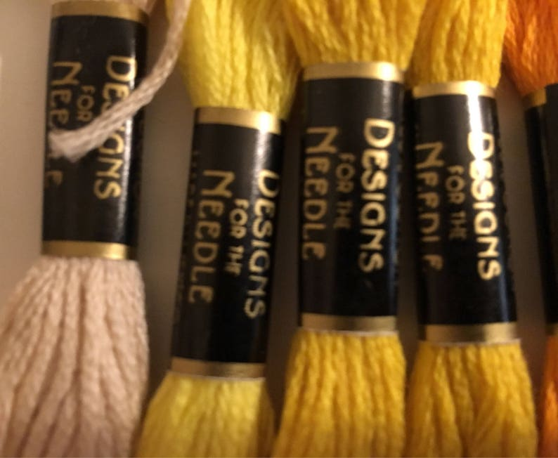 35 Skeins of Embroidery Thread