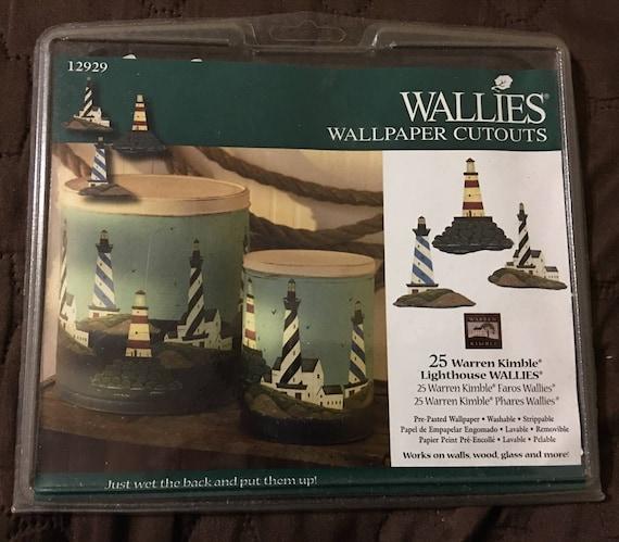 Warren Kimble Wallies Wallpaper Cutouts Lighthouses