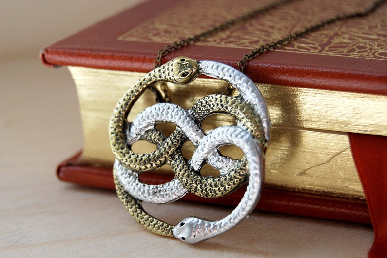 A Token from an Infinite Story  Auryn Necklace  80's image 0