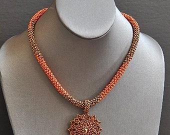 Blooming in Autumn Necklace
