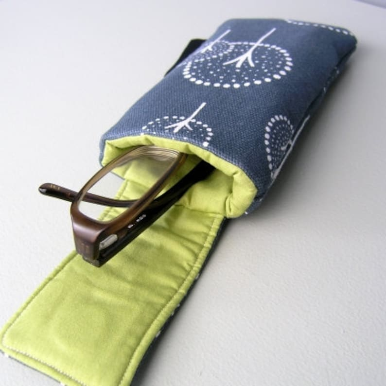 Sale Protective case for glasses  Glasses case Padded case image 0