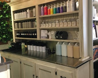 Large Store Display Hutch or Color Bar