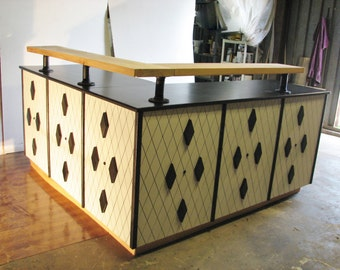 Ready to ship Diamond Design Sales Counter ON SALE !
