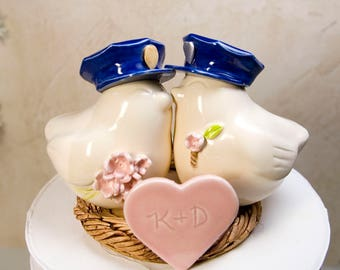 Police Officers Wedding Cake Topper