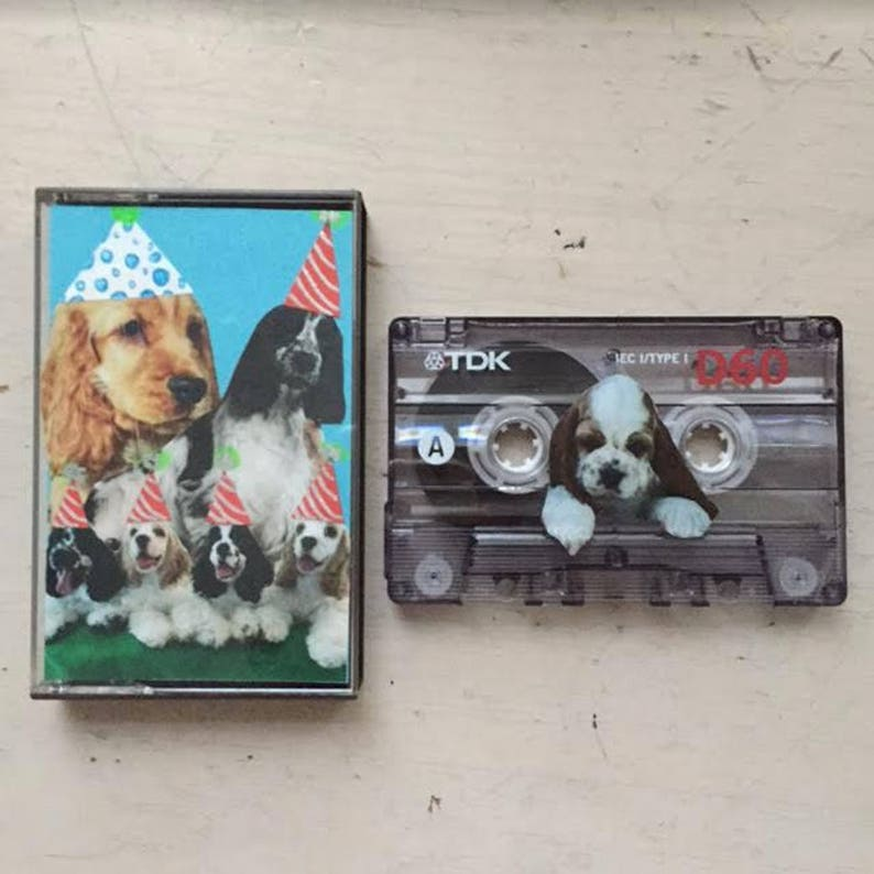 CUSTOM Mixtape Cassette Tape Designed and Curated by YOU image 0