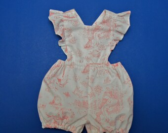 c866f267156a Toile Baby Girl Romper Size 1