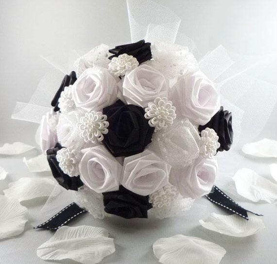 Uptown Wedding Bouquet Bridal Bouquet Lux Chic Style Etsy