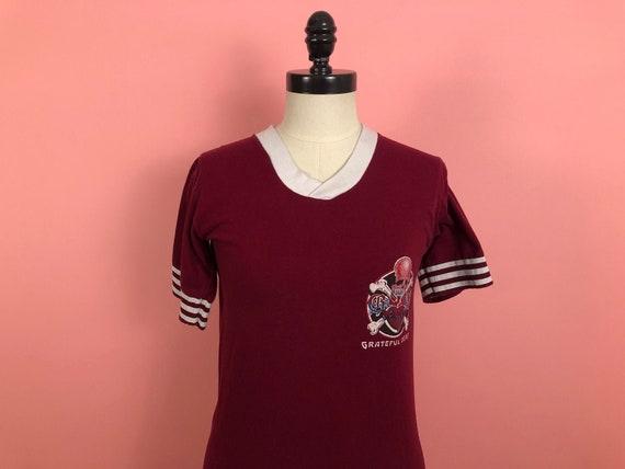 Vintage 1970's 1980's Grateful Dead T-shirt Jersey