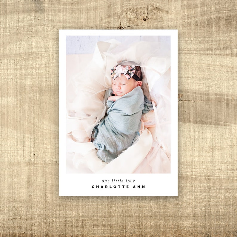 Birth announcement photo card photo birth announcement birth image 0