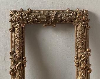 Vintage Gold Carved Frame