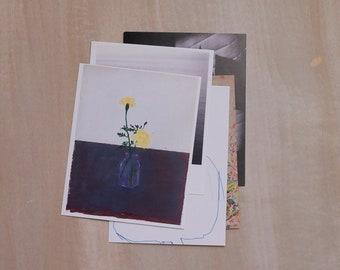 SALE! • Set of five postcards