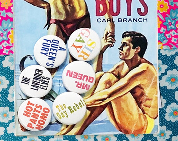 SALE! • Gay Pulp Badges