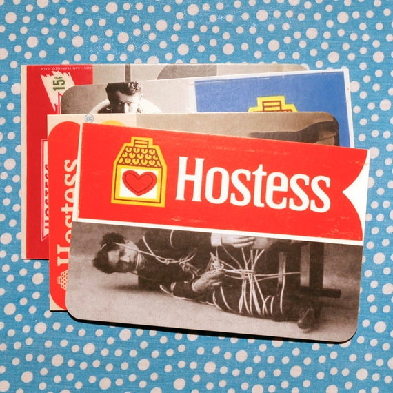 Hostess cards