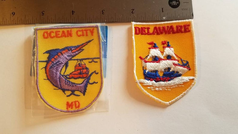 Ocean city and Delaware patches