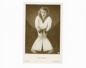 Vintage Postcard - Lilian Harvey