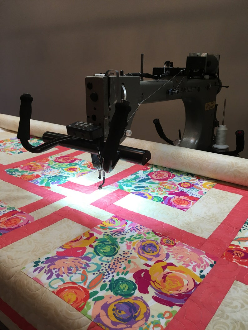 Longarm Quilting Service Twin size  Batting and shipping image 0