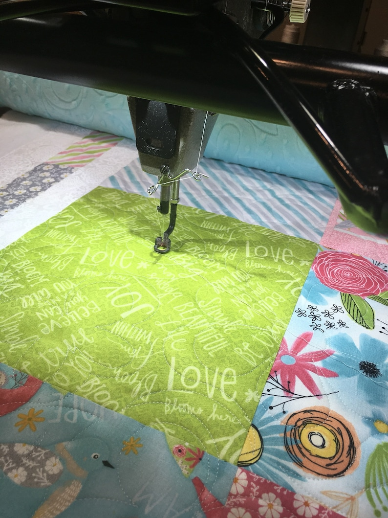 Longarm Quilting Service Full size  Batting and shipping image 0