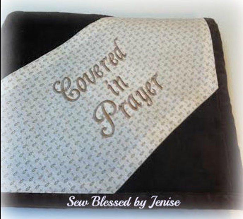Prayer Blanket Monogrammed image 0