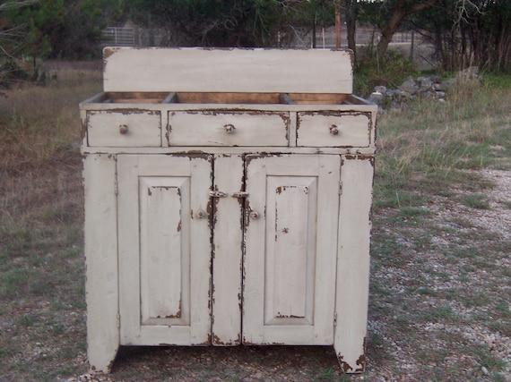 Bathroom Vanity Rustic Vanity Primitive Vanity In A Custom Etsy