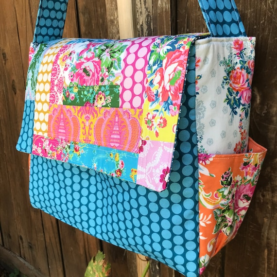 Patchwork Sugar Beach Messenger Bag