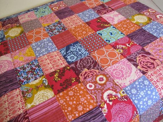 64X80 Twin Quilt Custom Order You Choose Fabrics