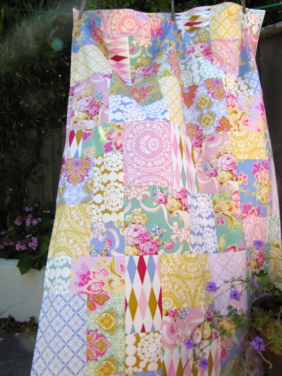 Jennifer Paganelli Nostalgia Patchwork and Minky Blanket