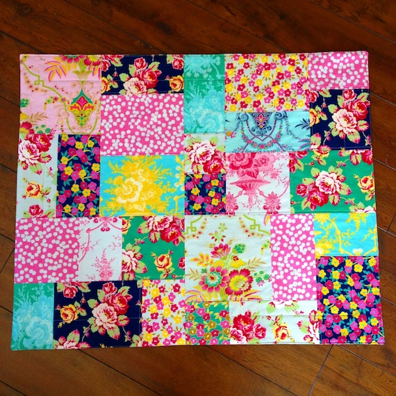 Custom Order Standard Patchwork Pillow Sham with Flange or Ruffle