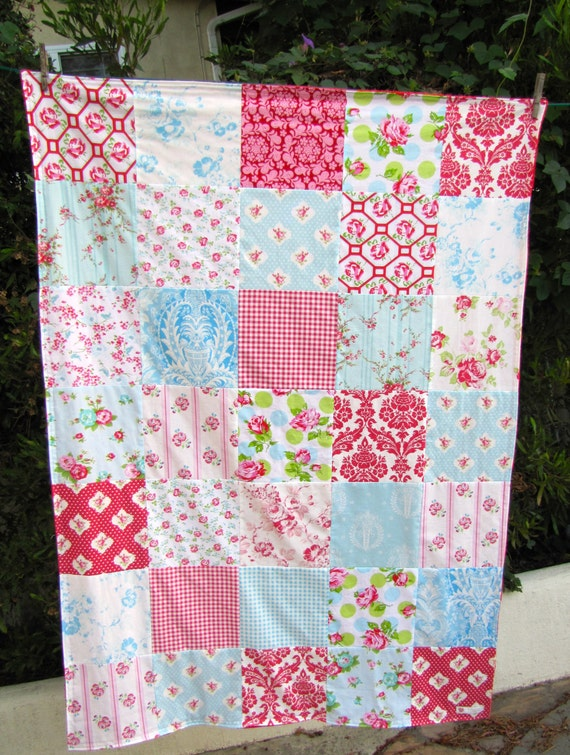 40x56 Tanya Whelan Minky Throw Ready to ship