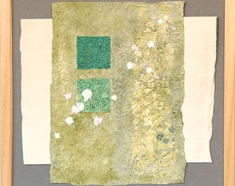 Chelsea Texture (1)  -  mixed-media collage\/painting