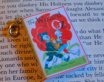 The Wizard of Oz - Zipper Charm - Purse Charm - Keychain - Free Shipping