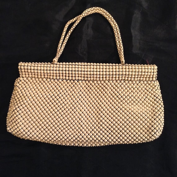 Vintage 1940s Whiting and Davis mesh purse