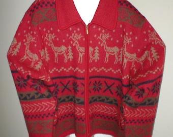 86055c70445 Reindeer sweater | Etsy