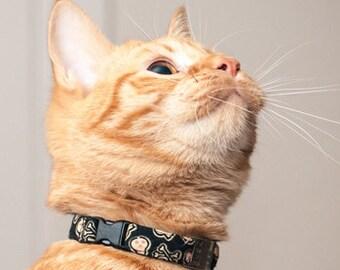 cool cat collar etsy