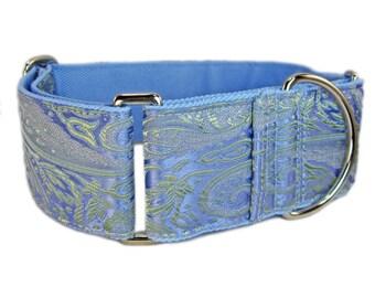 Martingale Collar, Lavender Martingale, Girl Dog Collar, Female Dog Collar, Whippet Collar, Greyhound Collar, Wide Dog Collar