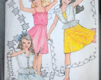 Girls Pullover Sundress   Unlined Jacket 98919bcc7