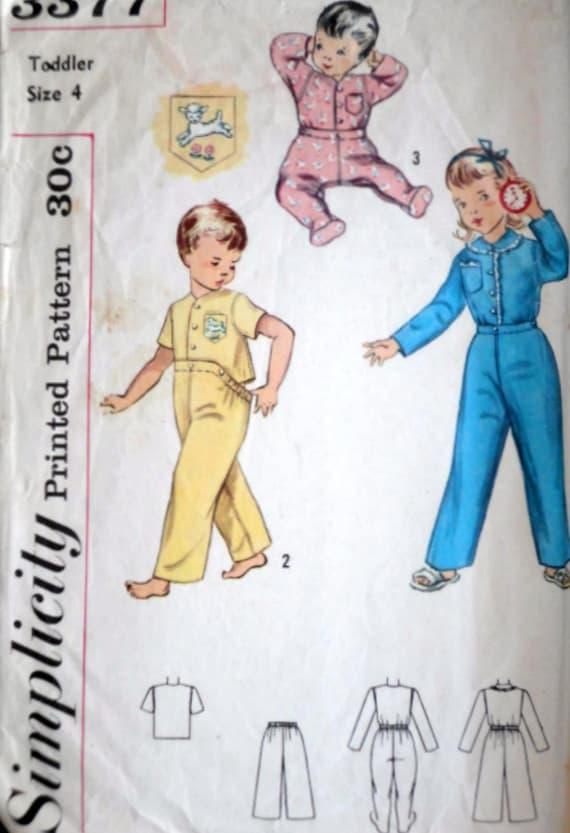 ff691d73c61dc Pyjama deux pièces pour tout-petits sur pied pyjama garçons