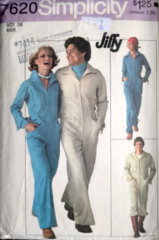 Vintage años 70 patrones de costura simplicidad 7620, Jiffy de ...