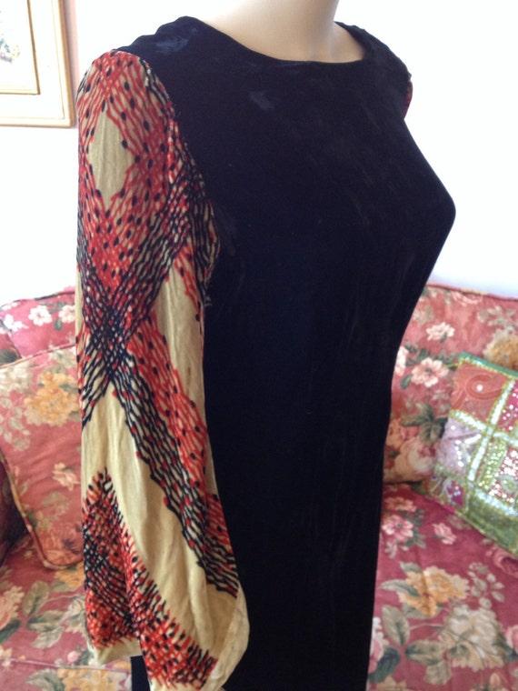 Vintage 1920s Dress. Vintage 20s Dress. Silk Dress