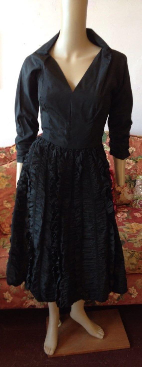 Vintage 1950s Dress. 1950s Ceil Chapman Dress.50s… - image 2