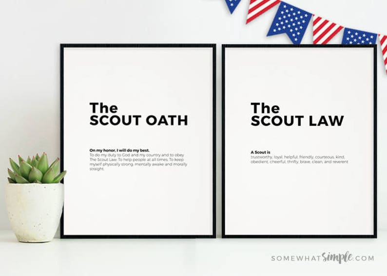 image about Boy Scout Oath in Sign Language Printable identified as Boy Scout Oath and Regulation Printables