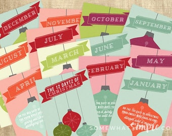 12 Daytz of Christmas - A Date Every Month of the Year