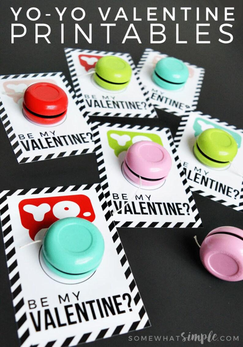 Yo Yo Valentine Cards image 0