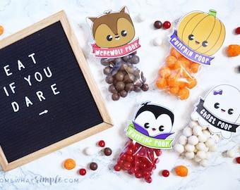 Halloween Treat Bag Toppers