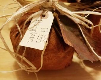 Prim Paper Pumpkin ~ Primitive Paper Pumpkin