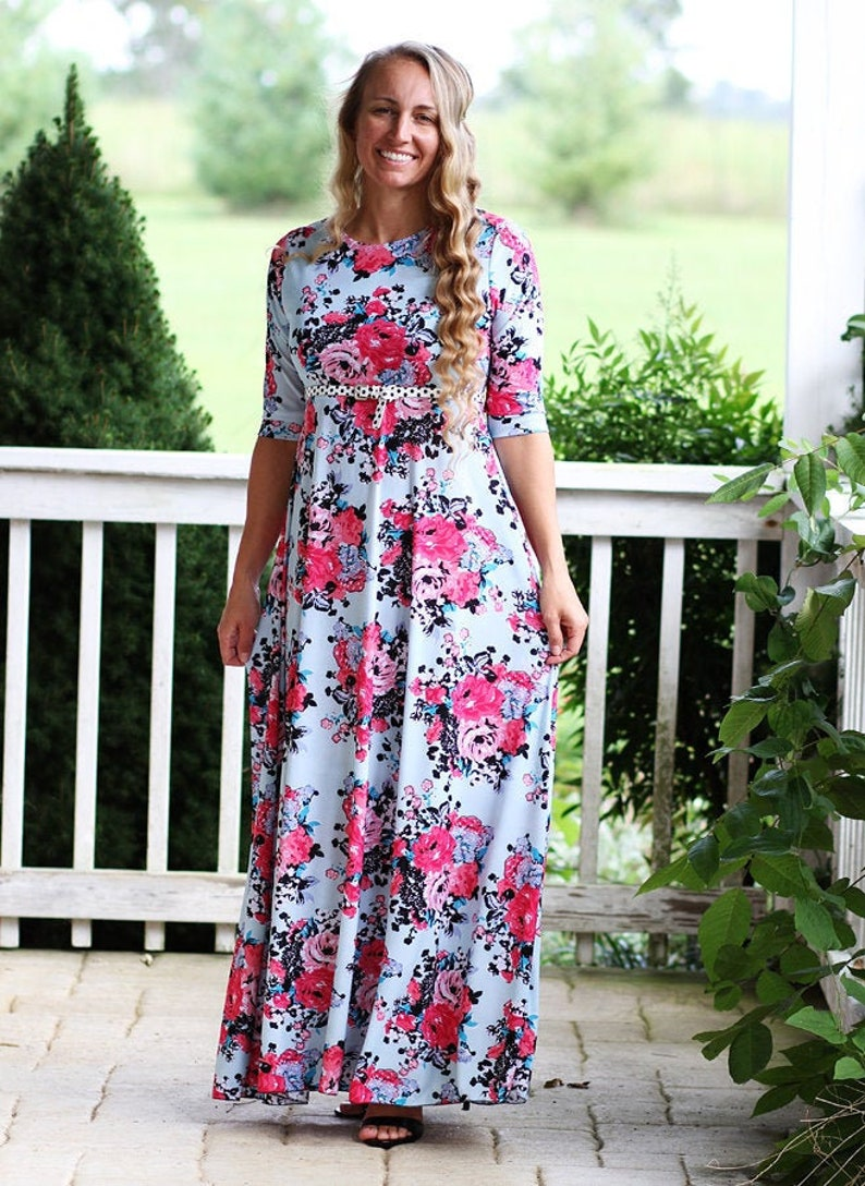 LALA Grace Dress PDF Pattern Digital Modest image 0