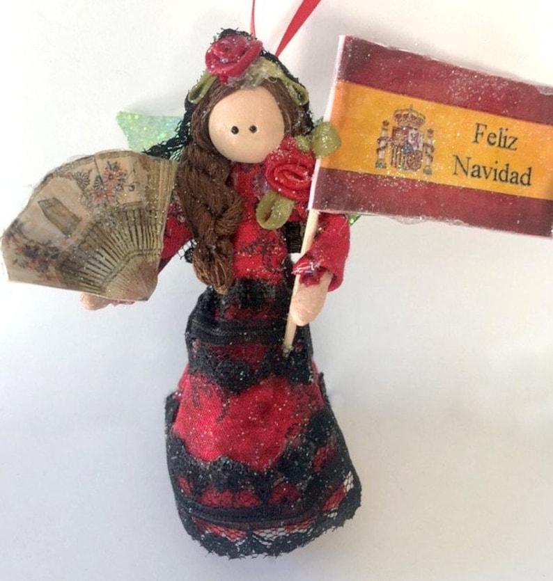 Spanish Fairy Spain travel keepsake souvenir Feliz image 0