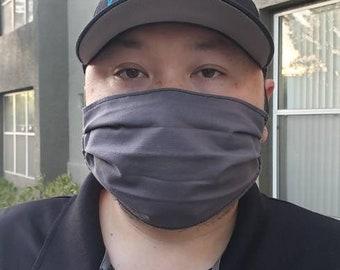 Handmade Facemask Gray
