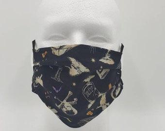 Handmade Facemask Halloween Mix Theme