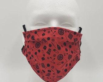Handmade Facemask Sewing Pattern
