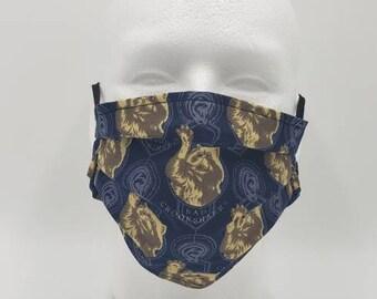 Handmade Facemask Crookshanks Theme